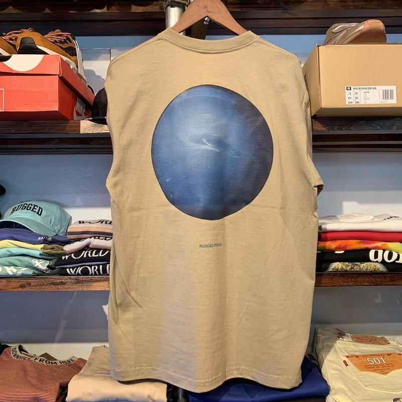 "RUGGED ""Neptune"" tee (Sand Khaki)"