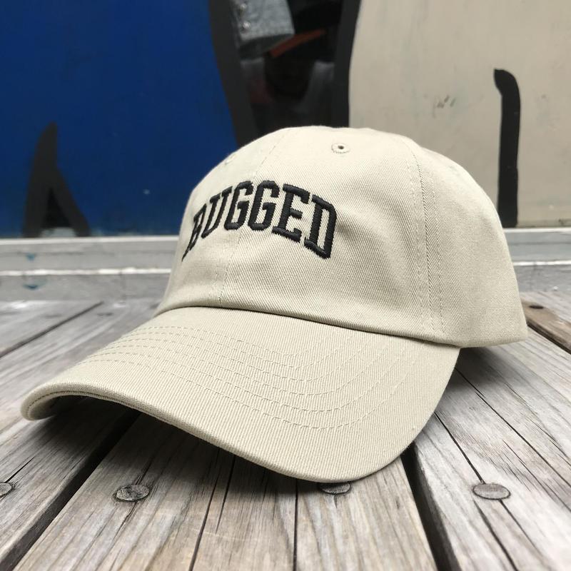 RUGGED ''ARCH LOGO'' adjuster cap (Beige)