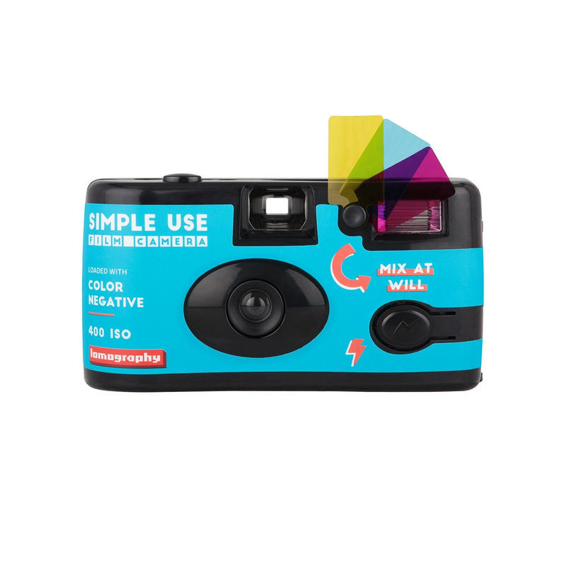 "【残り僅か】Lomography Simple Use Film Camera ""Color Negative 400"""