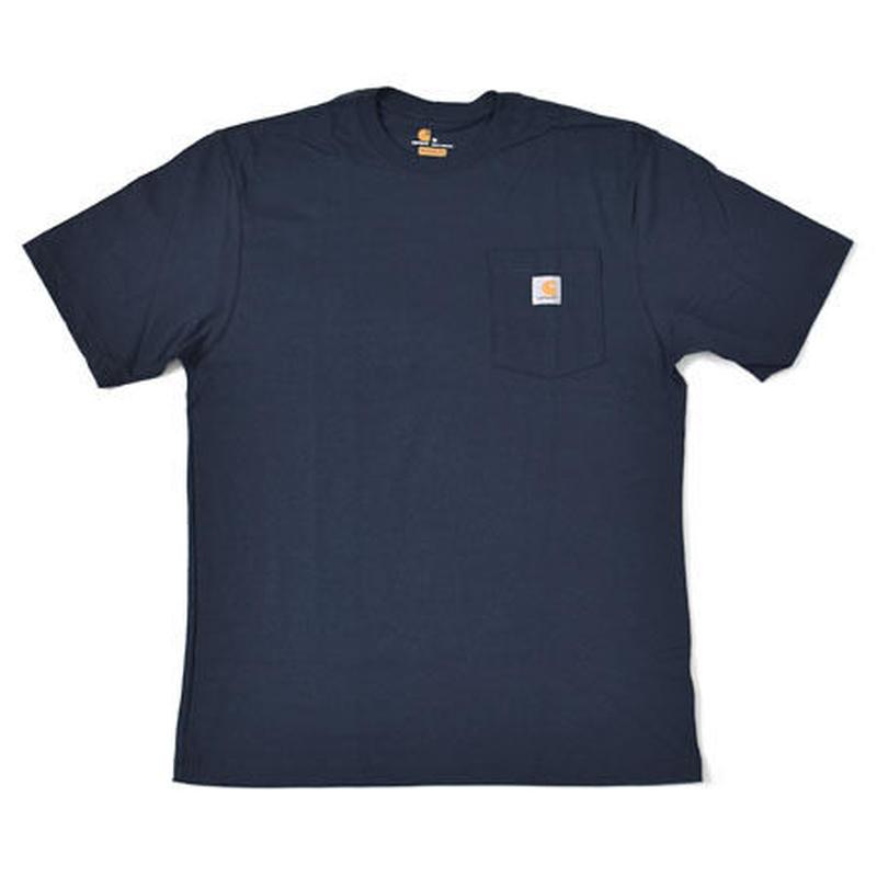 【ラス1】Carhartt pocket tee (Navy)