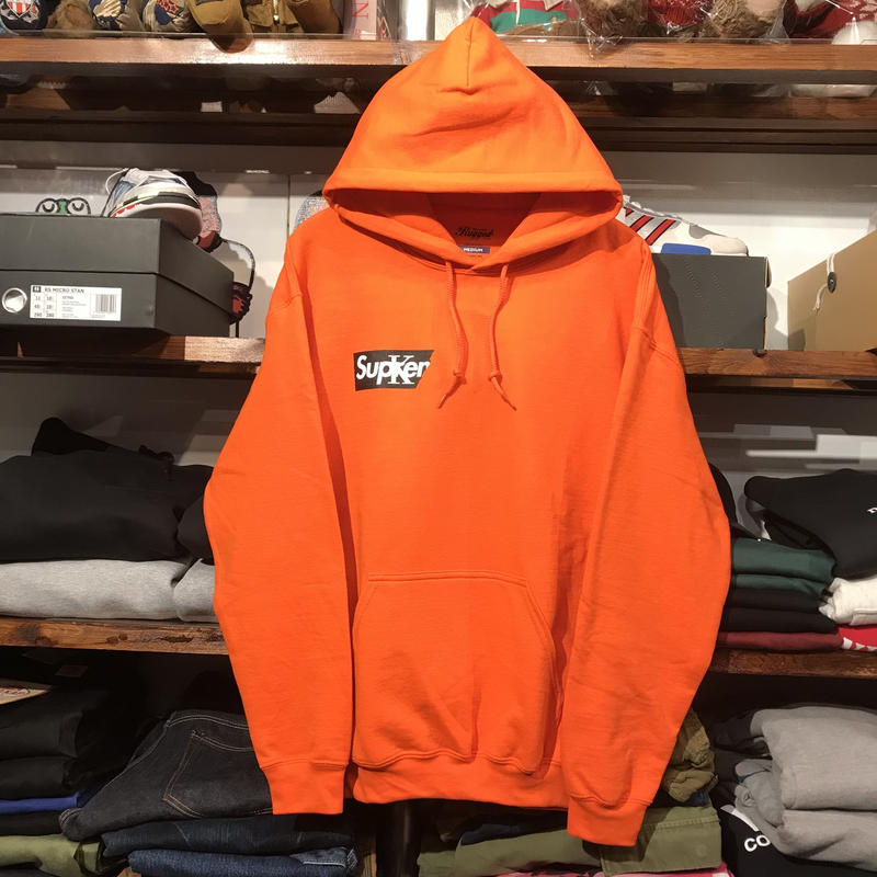 "【残り僅か】RUGGED ""Sucker"" sweat hoodie (Orange)"