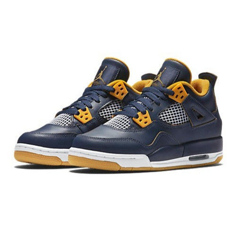 【ラス1】NIKE AIR JORDAN 4 RETRODUNK FROM ABOVE(NAVY/WHITE/GOLD)