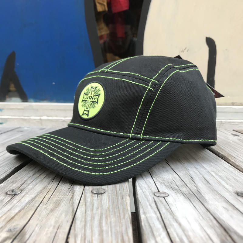 【ラス1】DOGTOWN logo 5Panel cap (Green)