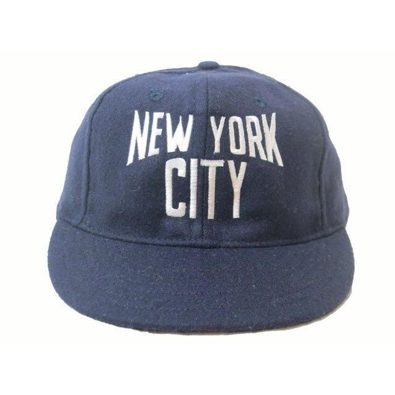 "COOPERS TOWN ""NEW YORK CITY"" BALL CAP (Navy/Made in USA)"