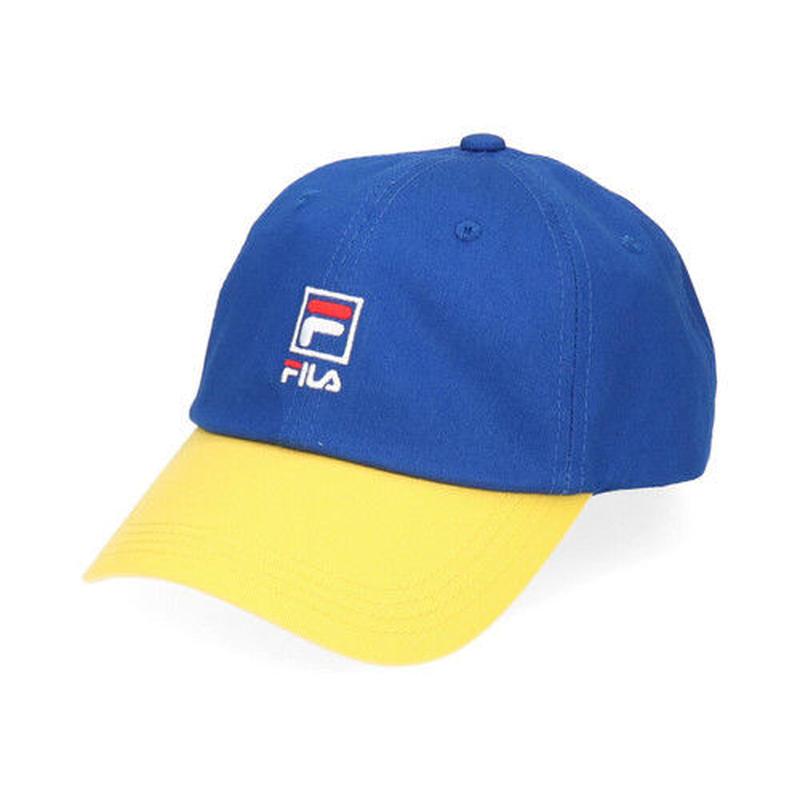 【ラス1】FILA bi-color adjuster cap (Blue)