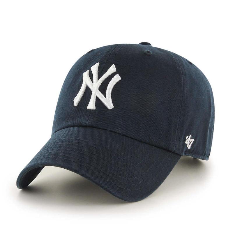 """【残り僅か】'47 CLEAN UP """"Yankees/Home"""" adjuster cap (Navy)"""