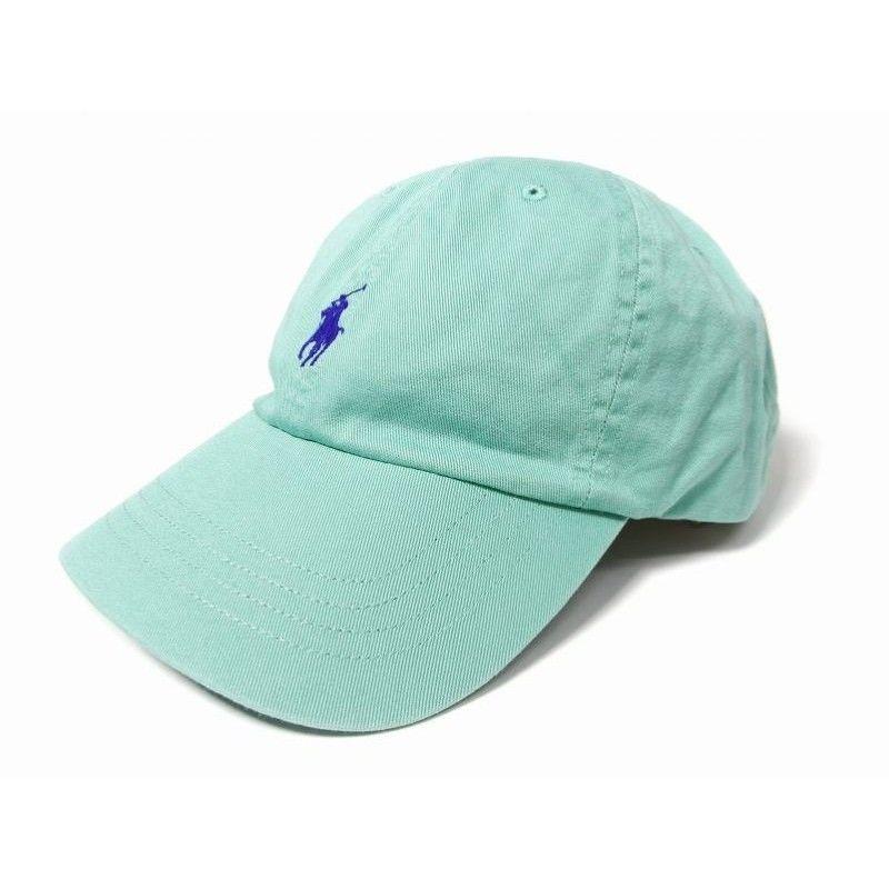 【残り僅か】POLO RALPH LAUREN small pony adjuster cap (Green)