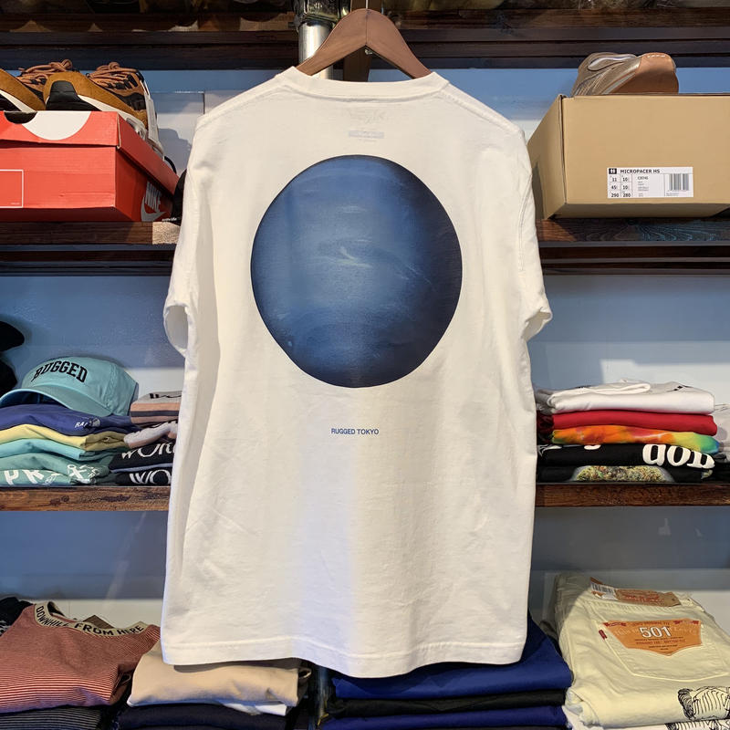"""RUGGED """"Neptune"""" L/S tee (Vintage White)"""