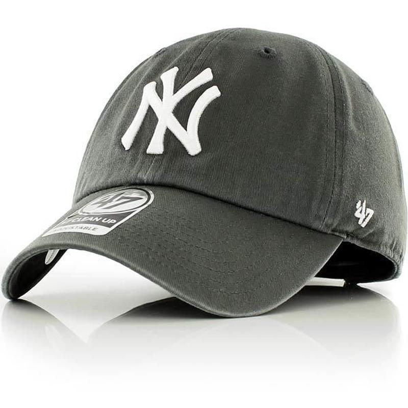 【残り僅か】'47 CLEAN UP Yankees adjuster cap (Charcoal)