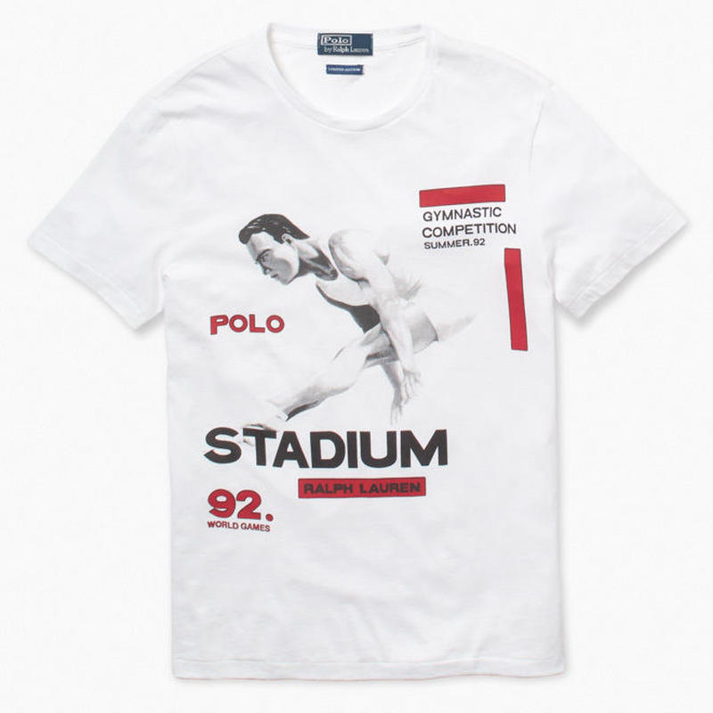 "【Exclusive】POLO RALPH LAUREN ""THE STADIUM 1992"" CREWNECK TEE (M)"