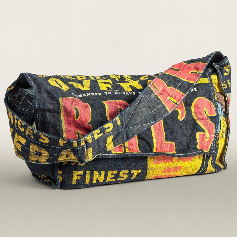 【ラス1】RRL Banner Porter Bag