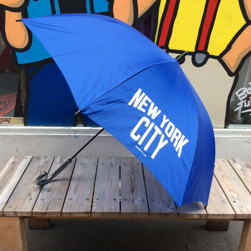 "【ラス1】Second Lab ""NYC"" umbrella (Blue)"