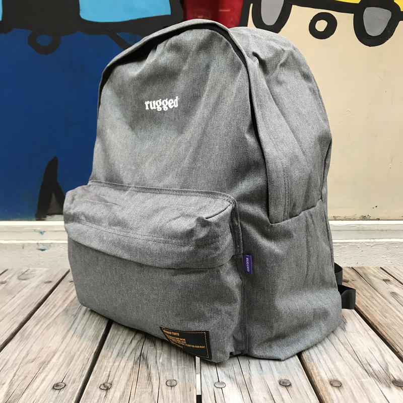 "【ラス1】RUGGED""rugged®️"" daypack (Gray)"