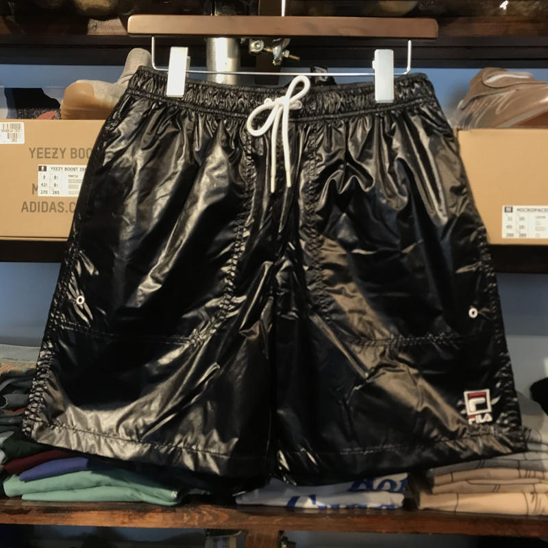 【残り僅か】FILA nylon mesh shorts (Black)