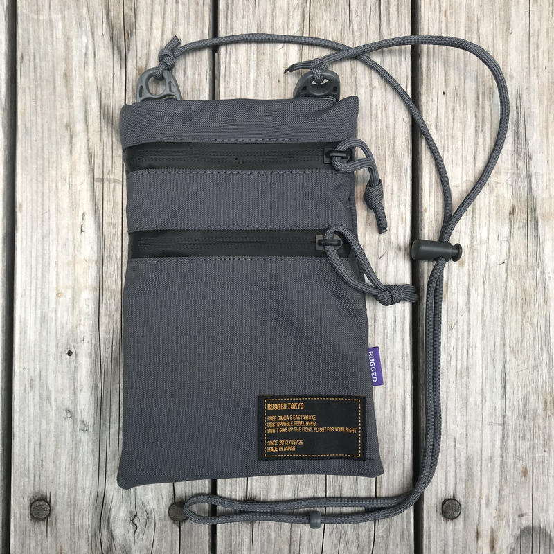 RUGGED sacosh bag (Gray)