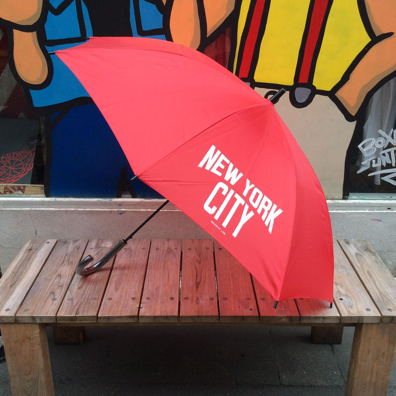 "【ラス1】Second Lab ""NYC"" umbrella (Red)"