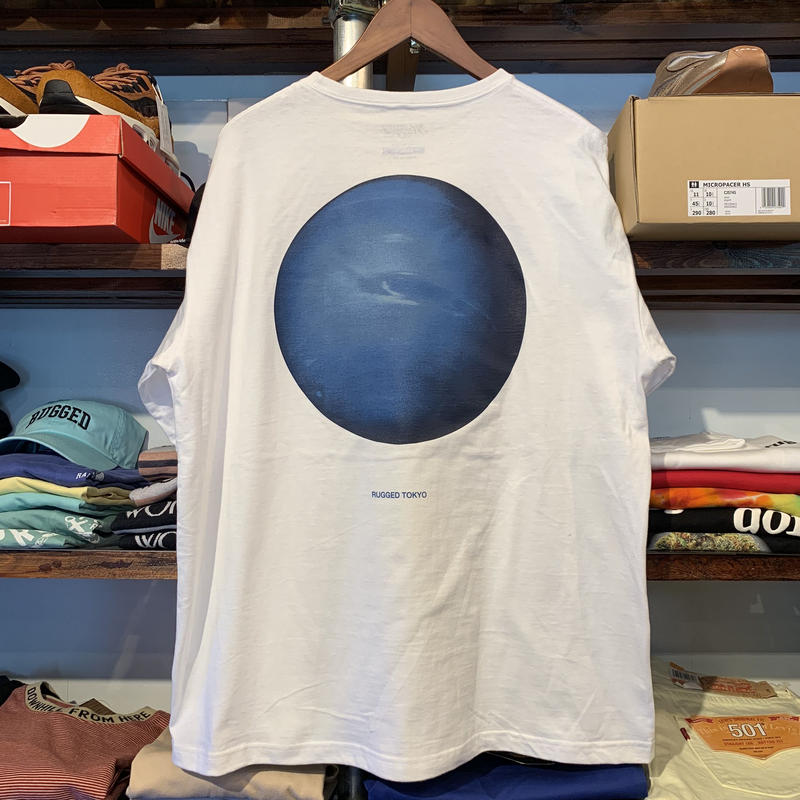 "RUGGED ""Neptune"" pocket tee (White)"