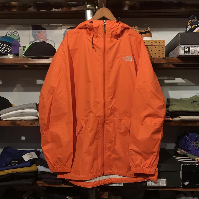 """【ラス1】THE NORTH FACE """"HYVENT/BAKOSSI"""" jacket (Orange)"""
