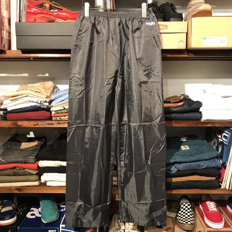"""【ラス1】RUGGED """"rugged®︎"""" light nylon pants (Black)"""