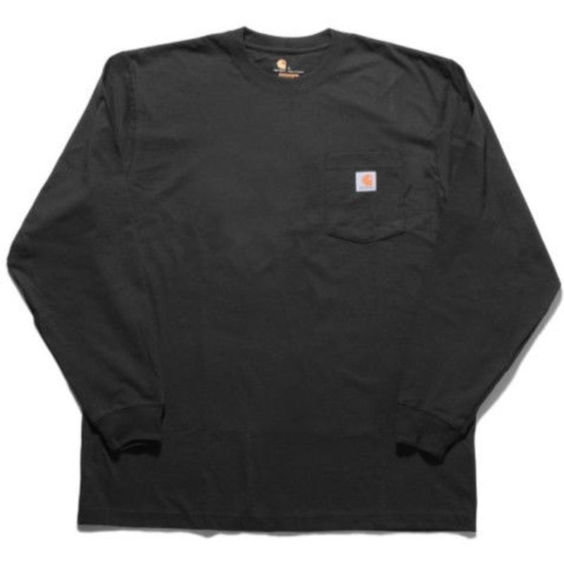 【ラス1】Carhartt L/S pocket tee (Black)