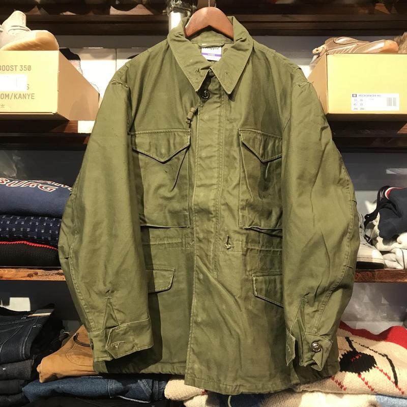 "RUGGED on Vintage ""POLO SMOKE"" Field jacket (L)①"
