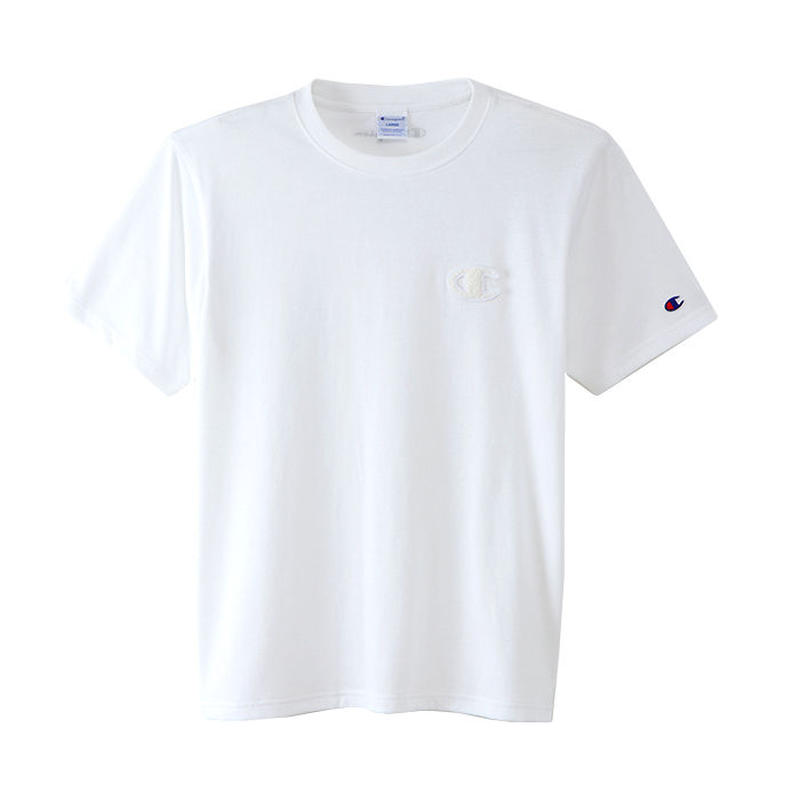 "Champion ""C VAPOR COOL"" tee (White)"