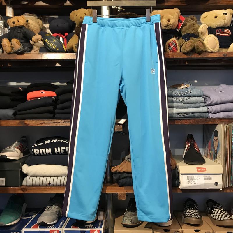 【ラス1】FILA line box logo truck pants (Turquois)