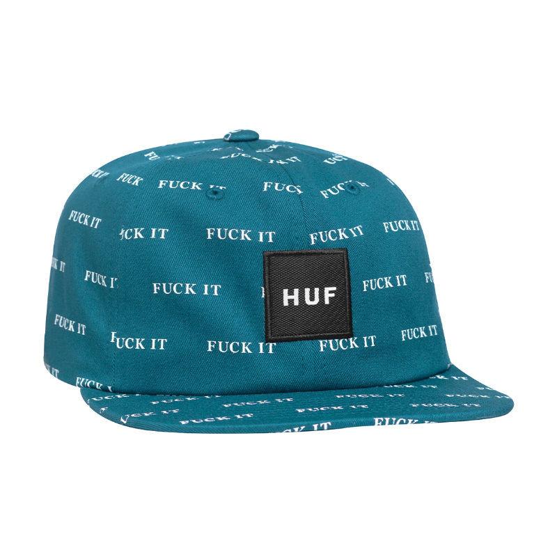 【残り僅か】HUF FUCK IT 6 PANEL HAT  (Biscay Bay)