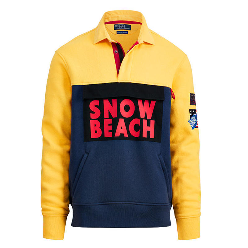 "【Exclusive】POLO RALPH LAUREN ""SNOW BEACH "" RUGBY SHIRT"