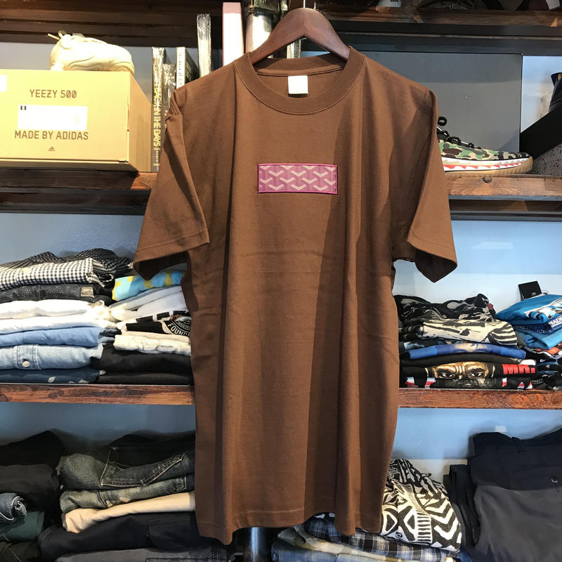 "【ラス1】AnotA""GOX"" tee (Brown × Purple)"