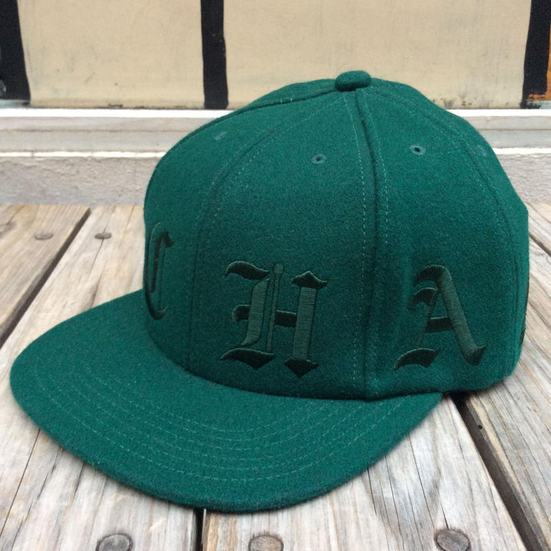 "【ラス1】Champion ""BB CH"" wool cap (Green)"