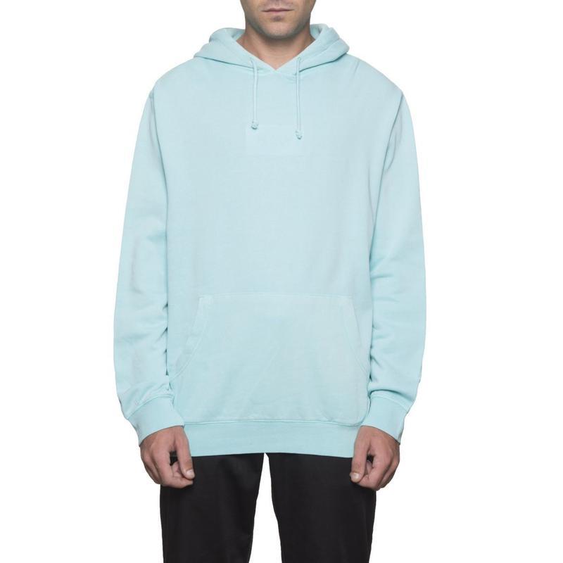 【ラス1】HUF Bar Logo Overdyed Pullover Hoodie (AQUA)