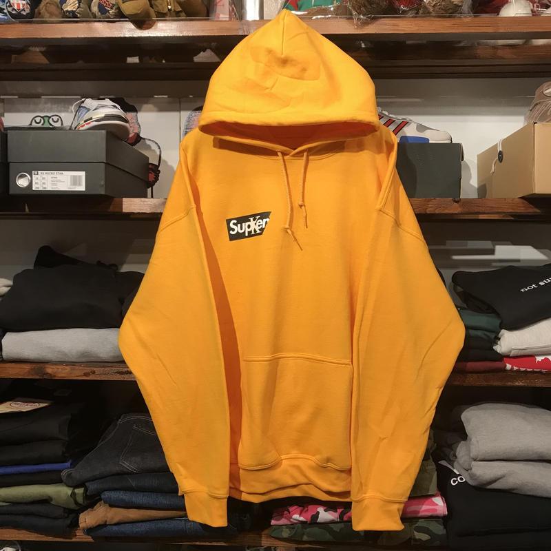 """【ラス1】RUGGED """"Sucker"""" sweat hoodie (Yellow)"""