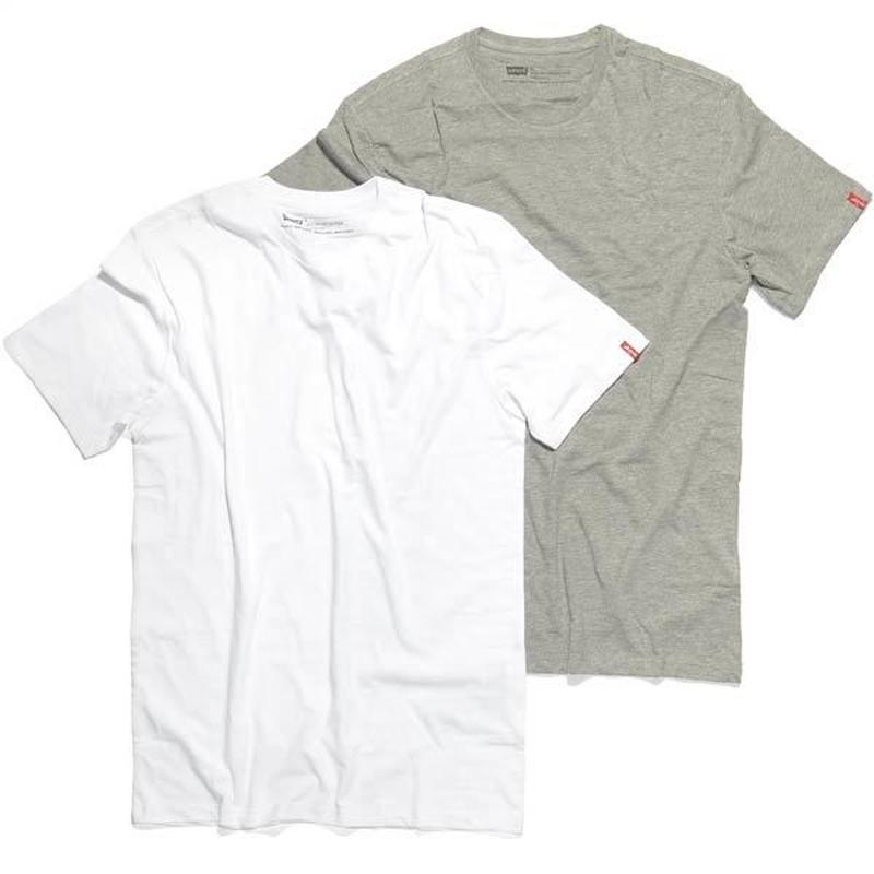 Levi's pack tee(White/Gray 各1枚)