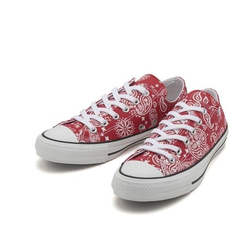 【ラス1】CONVERSE ALL STAR 100 BANDANA OX  (Red)