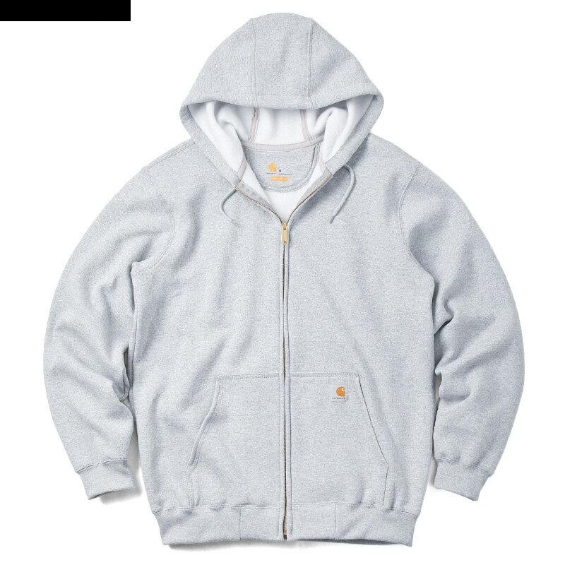 【ラス1】Carhartt full-zip hoodie(Heather Gray)