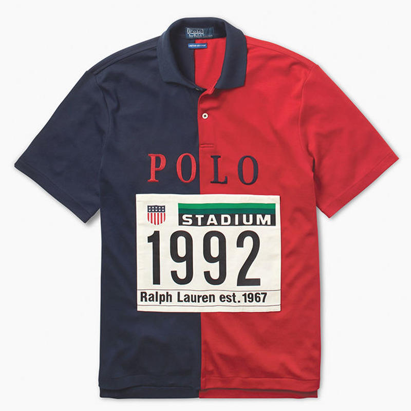 "【Exclusive】POLO RALPH LAUREN ""THE STADIUM 1992 "" COTTON SHIRT (S)"