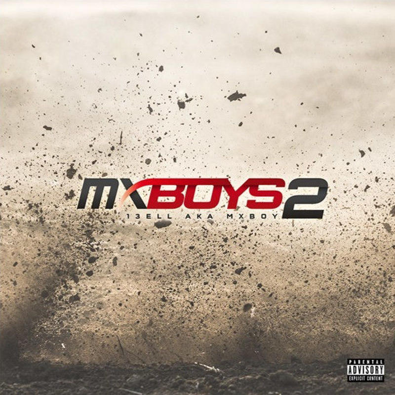 """【ラス1】13ELL """"MX BOYS 2"""" CD ALBUM (本人直筆サイン付)"""