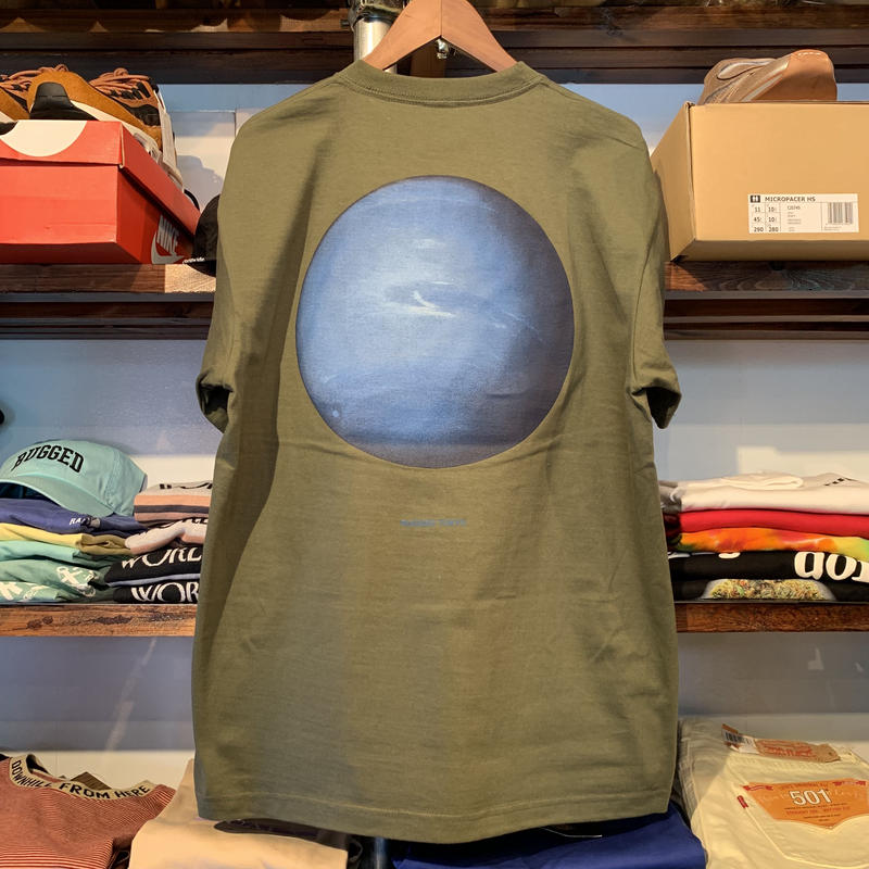 "【残り僅か】RUGGED ""Neptune"" tee (City Green)"
