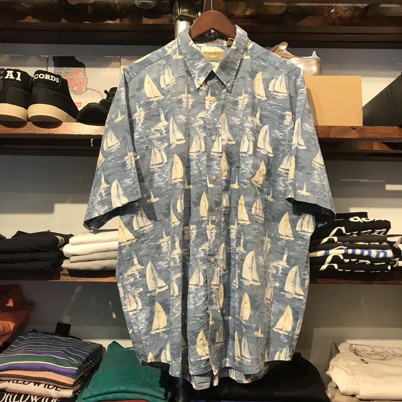 NATURAL ISSUE yatch shirt (XL)