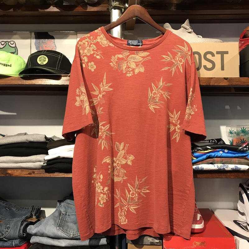 POLO RALPH LAUREN flower tee