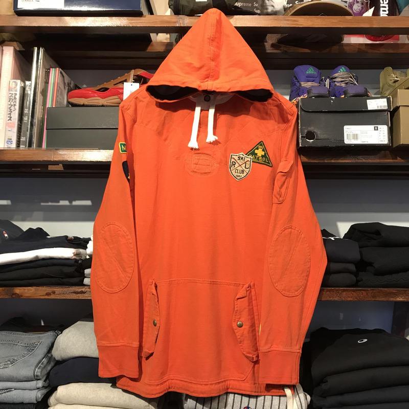 POLO RALPH LAUREN SKI CLUB wappen hoodie (L)