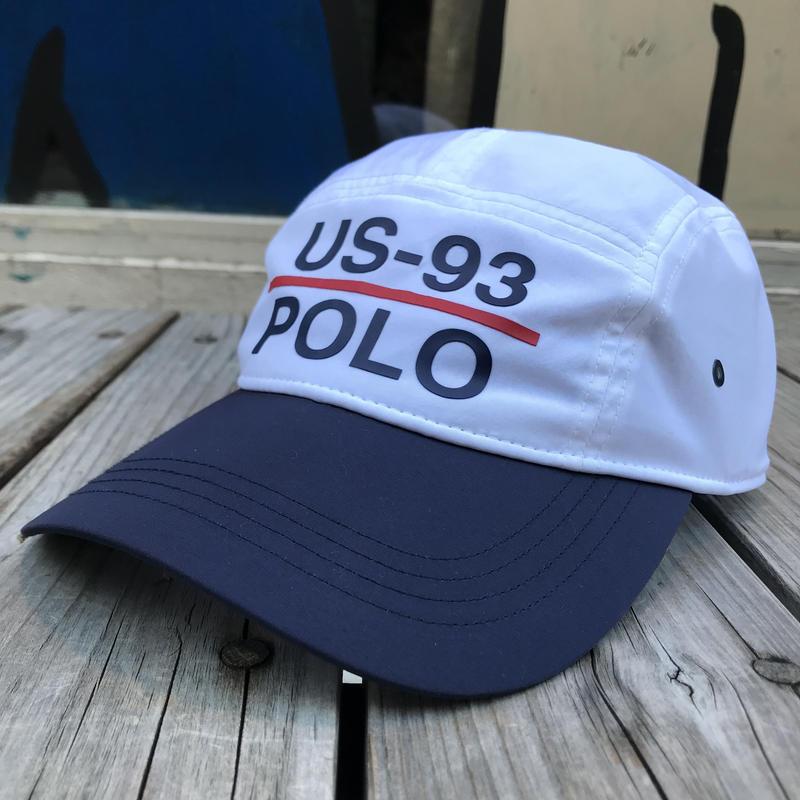 "POLO RALPH LAUREN SAILING ""US-93"" 5panel cap"