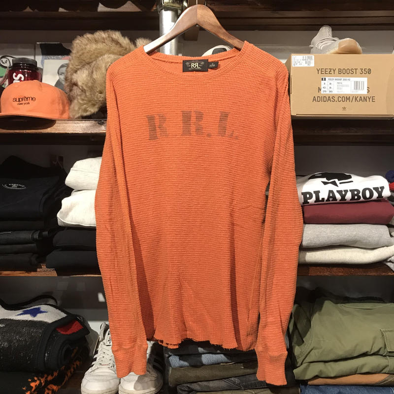 RRL logo thermal L/S (M)
