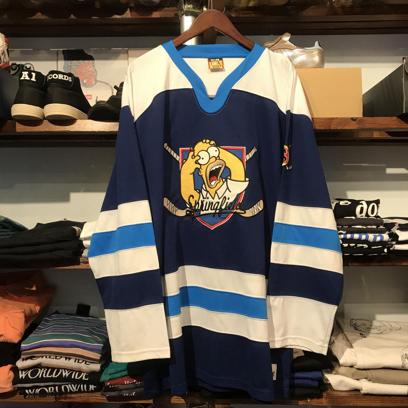 The Simpsons Homer Hockey shirt (L)