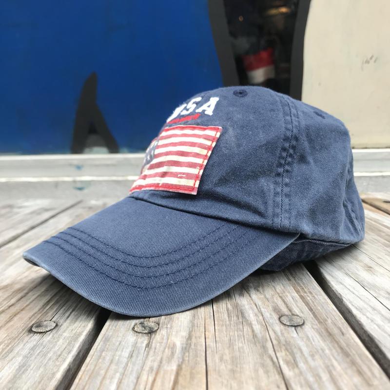 POLO RALPH LAUREN flag adjuster cap (navy)