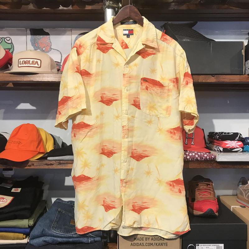 TOMMY HILFIGER aloha shirt (S)