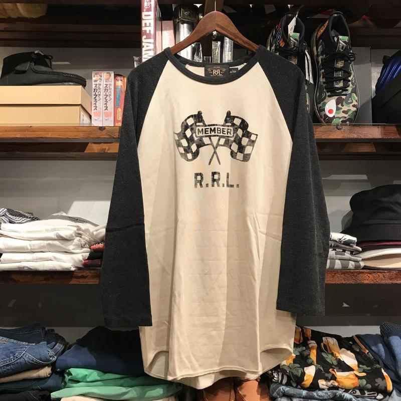 RRL by RALPH LAUREN raglan shirt (L)