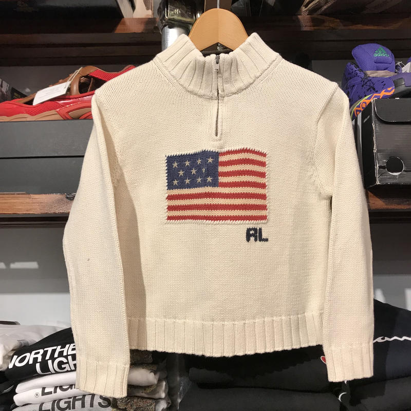 POLO RALPH LAUREN kids flag sweater (6)