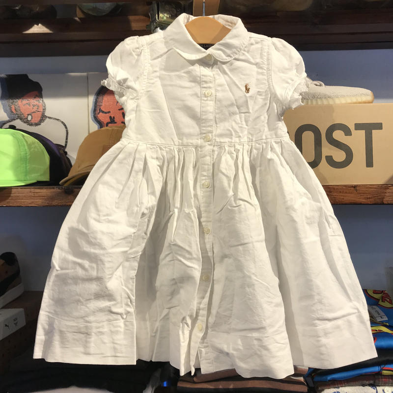 POLO RALPH LAUREN  cotton dress(24M)
